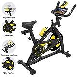 Nero Sports Spinning Aerobic Heimtrainer Indoor Training Fitness Cardio Spin Bike Fahrrad Pulsmesser Stufe