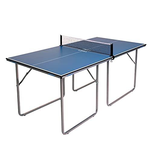 JOOLA Tischtennistisch Tischtennis Freizeittisch Inklusive Tischtennisnetz-22 KG, blau, one size