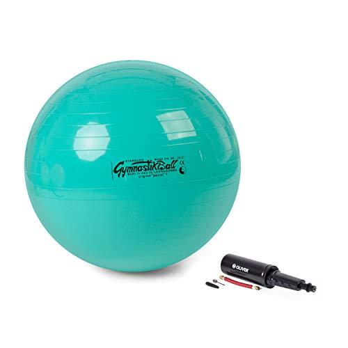 Pezzi Ball Gymnastikball 65 | Grün | Ball + Pumpe
