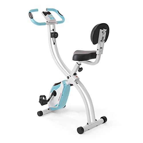 Ultrasport F-Bike 200B mit Rückenlehne,Heimtrainer, Fitnessbike, Mint
