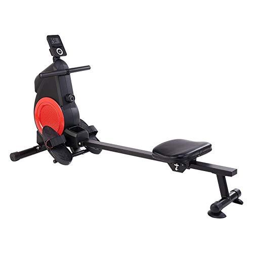 CWYPC Rudergerät, Rudergeräte Für Zuhause Rudermaschine Klappbar Rowing Machine Ruderergometer Sportgeräte, Resistance Adjustment, LCD-Display, Nutzergewicht Bis 120 Kg, Für Fitness