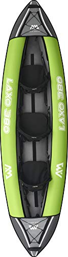 Aquamarina Unisex– Erwachsene LAXO 380 Kajak, Multicolor, Uni