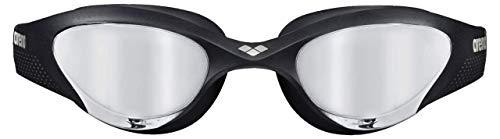 ARENA Unisex – Erwachsene Schwimmbrille The One Mirror, Silver-Black-Black, TU