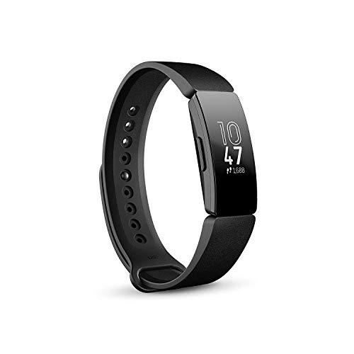 Fitbit Inspire Gesundheits- & Fitness Tracker mit automatischer Trainings Erkennung, 5 Tage Akkulaufzeit, Schlaf- & Schwimm-Tracking