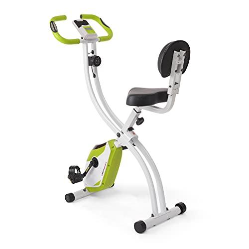 Ultrasport F-Bike 200B mit Rückenlehne, Heimtrainer, Fitnessbike, Grün