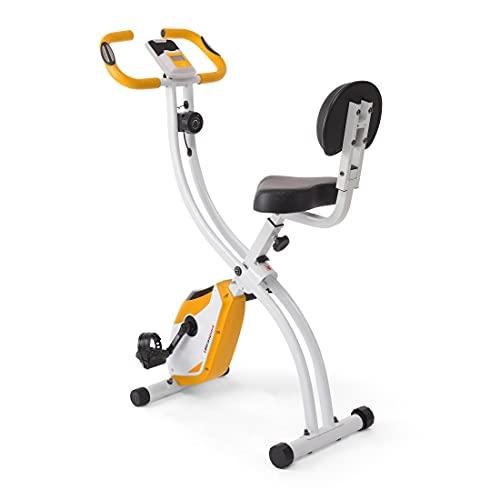 Ultrasport F-Bike 200B mit Rückenlehne, Heimtrainer, Fitnessbike, Orange