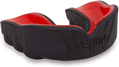 Venum Unisex Senior 11+ Jahre Challenger Mundschutz, Einheitsgröße,Schwarz/Rot