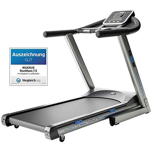 Laufband MAXXUS RunMaxx 7.3 Klappbar - mit Bluetooth APP Steuerung - 18km/h, Starker 3 PS DC-Motor - Große Lauffläche - Ideal Für Zuhause