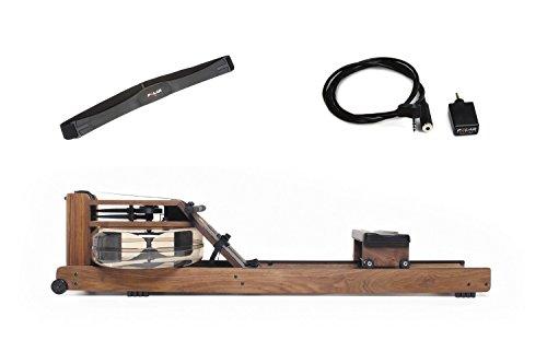 WaterRower Rudergerät Nussbaum S4 mit Cardio-Set, 300s4