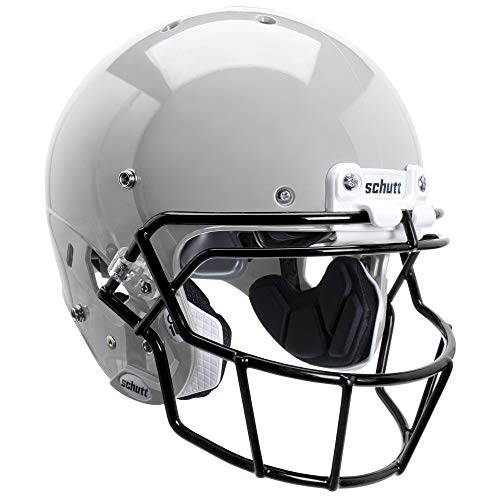 Schutt Sports FB Air XPPRO Q10spms Helm mit Stabilisatoren, Helmet FB 788900 AIR XP PRO Q10 L SPMS W/BK STABILIZERS, schwarz, Large