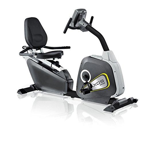 Kettler Heimtrainer Axos Cycle R - Farbe: Silber/Anthrazit - der ideale Sitzheimtrainer - Artikelnummer: 07986-897