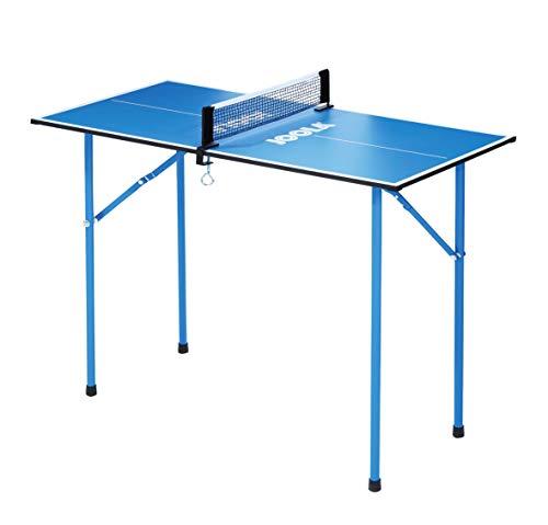 JOOLA Tischtennisplatte TT-Tisch Mini Tischtennistisch, Blue, one size