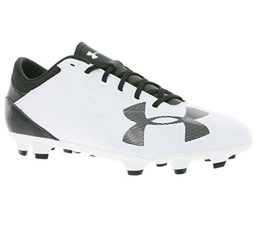 Spotlight DL FG Football Boots - White/Black - Size 9
