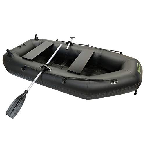 WatersideSchlauchboot Hunter-SP 235 | Paddelboot inkl. Paddel, Pumpe | Sportboot, Angelboot