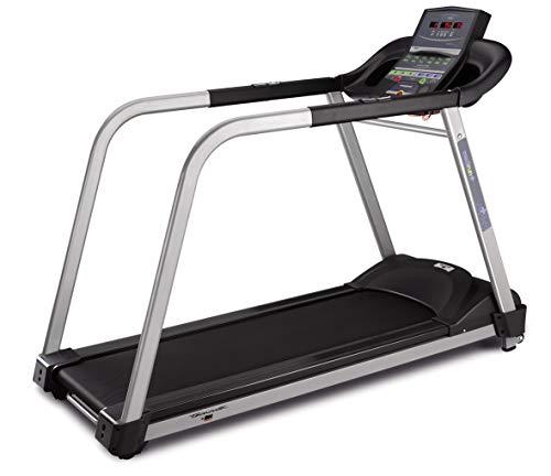 Tecnovita by BH MEDIRUN YG6463 laufband mit haltegeländer, Fitness für Senioren, 0,5-10 km/h