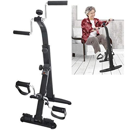 LCJ Reha-Fahrrad,Heimtrainer Arm- und Beintrainer - - Fitnessgeräte für Senioren und Senioren/Pedal-Heimtrainer, ideal für Senioren Elektrisches Pedal-Heimtrainer