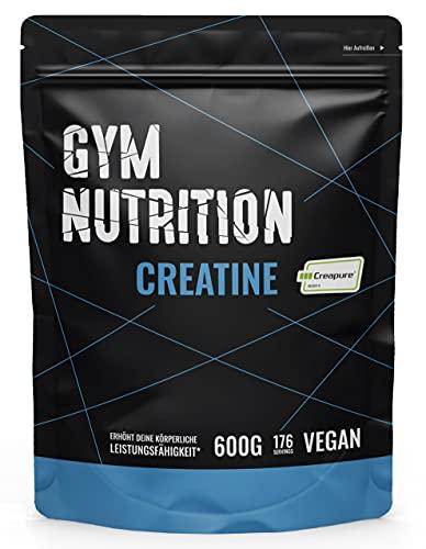 KREATIN CREAPURE Monohydrat Pulver 600g reines Kreatin Monohydrat Pulver mit 99,99% Reinheit Vegan, Halal und hergestellt in Deutschland