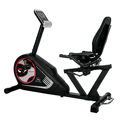 Christopeit Sport Sitz-Ergometer Heimtrainer RS 3 - 24-Stufig, bis 150kg Gewicht - 10 Magnet-Bremssystem