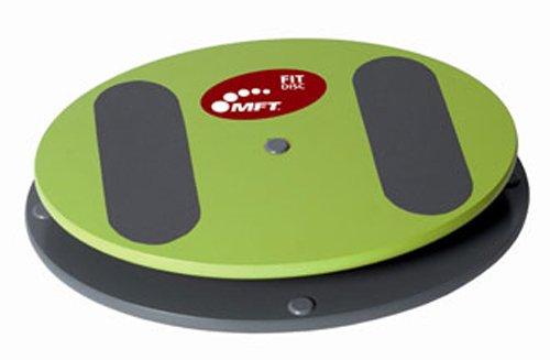 MFT Fit Disc - Profi Balance Board aus hochwertigem Holz inkl. Videokurs - rutschfestes Balance Pad für Sportler, Senioren und zur Physiotherapie