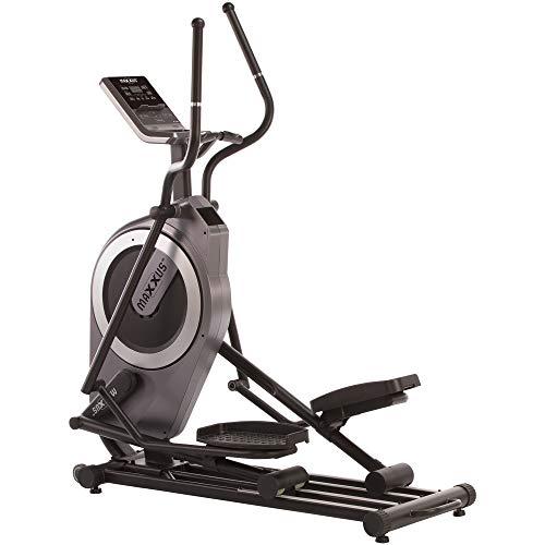 MAXXUS Crosstrainer CX 6.2 - Kompakter Heimtrainer In Studioqualität - 26 KG Schwungmasse Für Gelenkschonende Laufbewegung - Zeitloses, Modernes Design - Ellipsentrainer Mit 50cm Schrittlänge