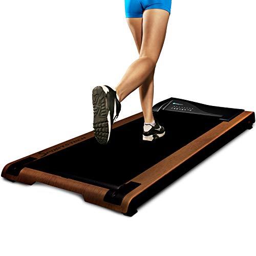 DESKFIT Laufband für Schreibtisch - fit & gesund im Büro & zu Hause | Bewegung & ergonomisches Arbeiten | Sehr leise & easy verstaubar | Inkl. praktischer Tablet-Halterung, Fernbedienung + App |DFT200