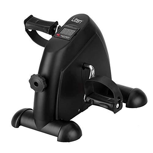 Heimtrainer Mini Bike Arm und Beintrainer Fitnessbike Bewegungstrainer mit LCD Display für Zuhause Büro