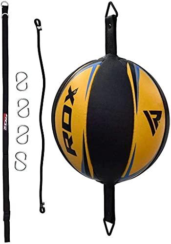 RDX Doppelendball Boxen Boxbirne Set Doppelter Endgeschwindigkeits-Ball Drehwirbel Speedball Punchingbälle (MEHRWEG)