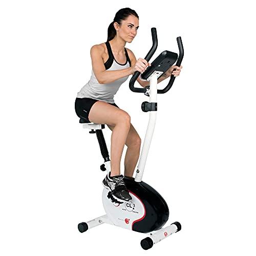 Christopeit Sport Heimtrainer CL 3 - 8-stufiger Widerstand, bis 100kg Gewicht, 7kg Magnet-Bremssystem, LCD-Display