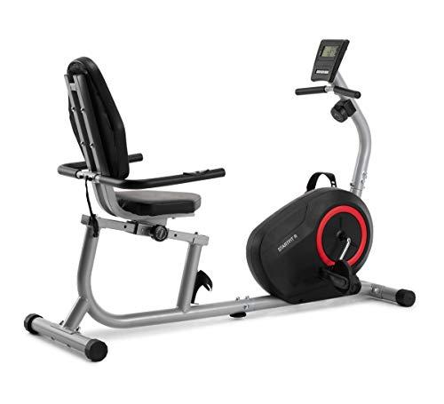 CADENCE Unisex STARTFIT R Liege-Fitnessrad, Schwarz und Rot