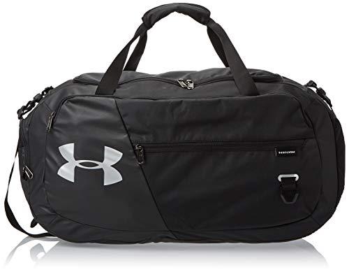 Under Armour UA Undeniable 4.0 Duffle MD geräumige Sporttasche, Wasserabweisende Umhängetasche, Schwarz, Einheitsgröße