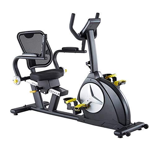MAXXUS Ergometer Bike 6.1R-Fit Reha Bike mit klappbaren Armlehnen und Netz Rückenlehne Magnetbremse Trainingsprogramme