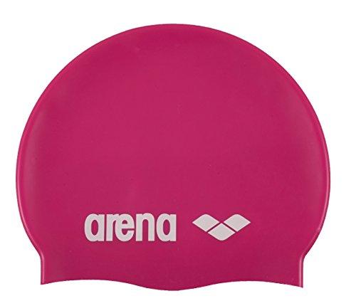 ARENA Classic Silikon Unisex Badekappe für Damen und Herren, fuchsia, Einheitsgröße