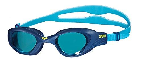 arena The One Junior Anti-Fog Schwimmbrille für Kinder, Schwimmbrille mit Breiten Gläsern, UV-Schutz, Selbstjustierender Nasensteg, Orbit-Proof Dichtungen
