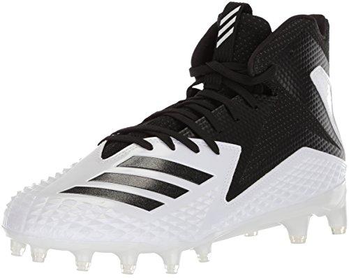 adidas Freak X Carbon Mid American Football Rasen Schuhe - weiß/schwarz Gr. 12 US
