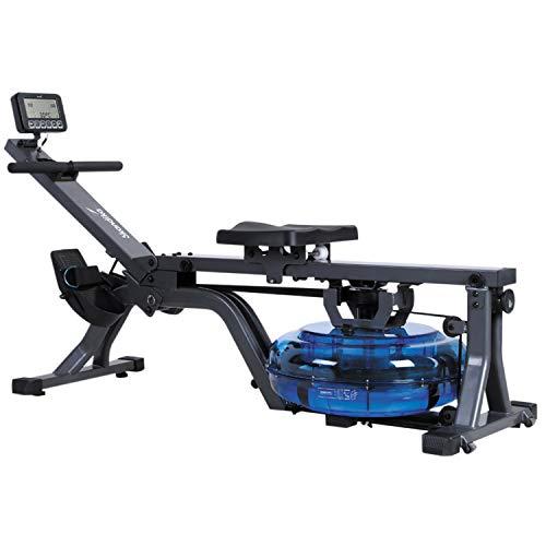 skandika Wasser-Rudergerät Nemo II/III/Compact, Water Ruderzugmaschine mit regulierbarem Wasserwiderstand, Rower mit 130/150 kg Benutzergewicht