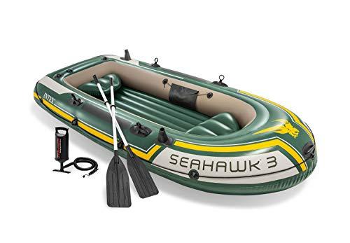 Intex Seahawk 3 Set Schlauchboot - 295 x 137 x 43 cm - 3-teilig - Grün