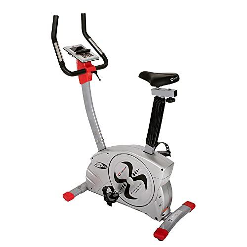 Christopeit Sport Ergometer Heimtrainer ET 6 - 24-Stufig, bis 150kg Gewicht, 12kg Magnet-Bremssystem, LCD-Display