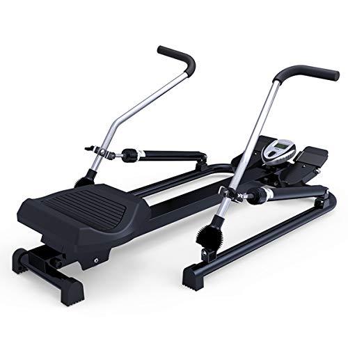 NXX Rudergerät, Rudermaschine Für Rudersport & Oberkörpertraining, Fitnessgerät Für Zuhause, 6 Widerstandsstufen, Klappbar