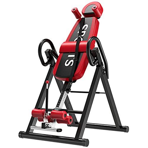 MIIGA Inversionsbank klappbar Heimtrainer Rückentraining Bauchtraining Rückenstrecker Sport & Fitness für Zuhause Belastbarkeit 150 kg verstellbar 135 bis 195 cm