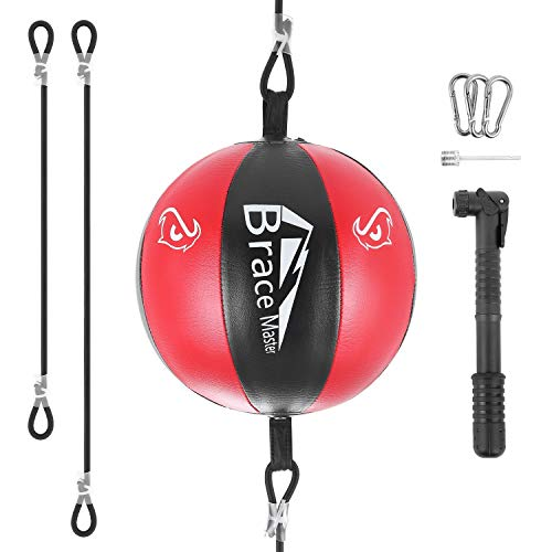 Brace Master Boxball Punchingbälle Doppelendball Trainingstasche Boxen Trainingsanzug für Männer & Frauen