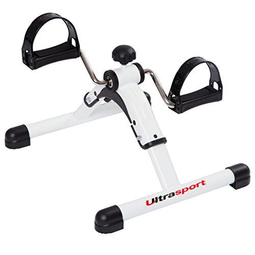 Ultrasport Mini Bike Heimtrainer Arm- und Beintrainer, Pedaltrainer für Senioren und Junge, opt. Trainingscomputer, Trainingsgerät für zu Hause und Büro, einfach mitnehmbarer Pedaltrainer