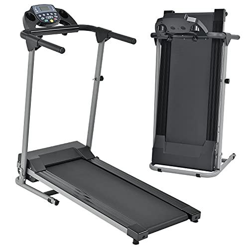 ArtSport Laufband Speedrunner 2000 klappbar - 10 km/h & 12 Programme, LCD Display – Heimtrainer elektrisch 120 kg belastbar - Fitnessgerät 500 Watt