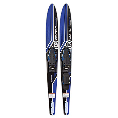 O'Brien Celebrity Combo Water Skis, Blue, 68'
