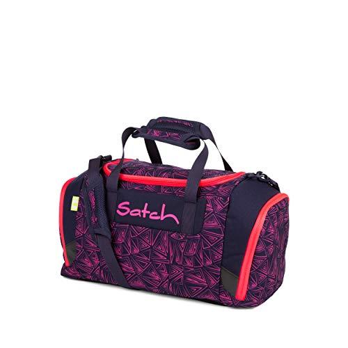 Satch Sporttasche - 25l, Schuhfach, gepolsterte Schultergurte - Pink Bermuda - Pink