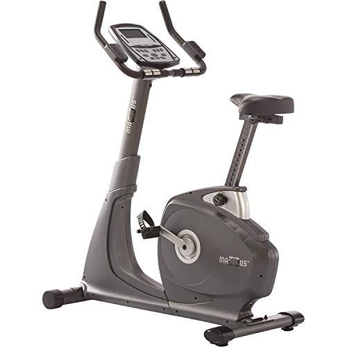 MAXXUS Fahrrad-Ergometer 7.0 mit Trainingscomputer und Pulsmesser – Heimtrainer Bike mit 12 KG Schwungmasse bis 120 kg belastbar