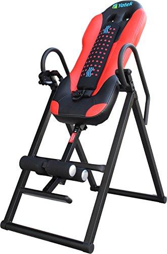Yatek Inversionsbank klappbar Deluxe, Inversionstisch für bis zu 150kg mit Massager, Robust und 180º Inversionsmöglichkeit.