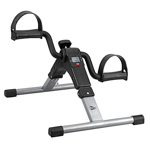 Mini Bike Trainer Pedaltrainer Heimtrainer Arm- und Beintrainer für Zuhause Elektrisch Klappbar Fahrradtrainer Ausdauertraining Sportstraining
