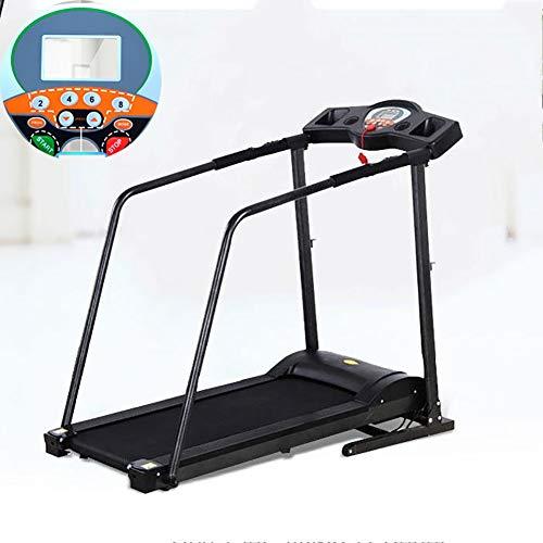 SRFDD Elektro-Recovery-Laufband, Jogging Gehmaschine für Senioren Elders, Cardio Elektrischen laufende Maschine Laufband mit extra Langen Griffen