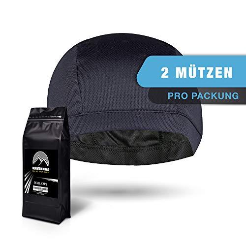 Mountain Break Sportmütze OneSize für Herren und Damen, Schwarz, Atmungsaktiv