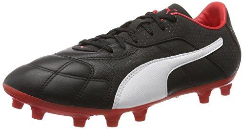 Puma Herren Esito C FG American Football Schuhe, Schwarz Black-White-Red, 40.5 EU
